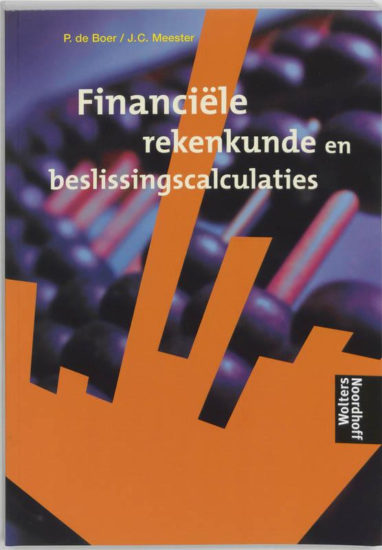 Financiele rekenkunde en beslissingscalculaties