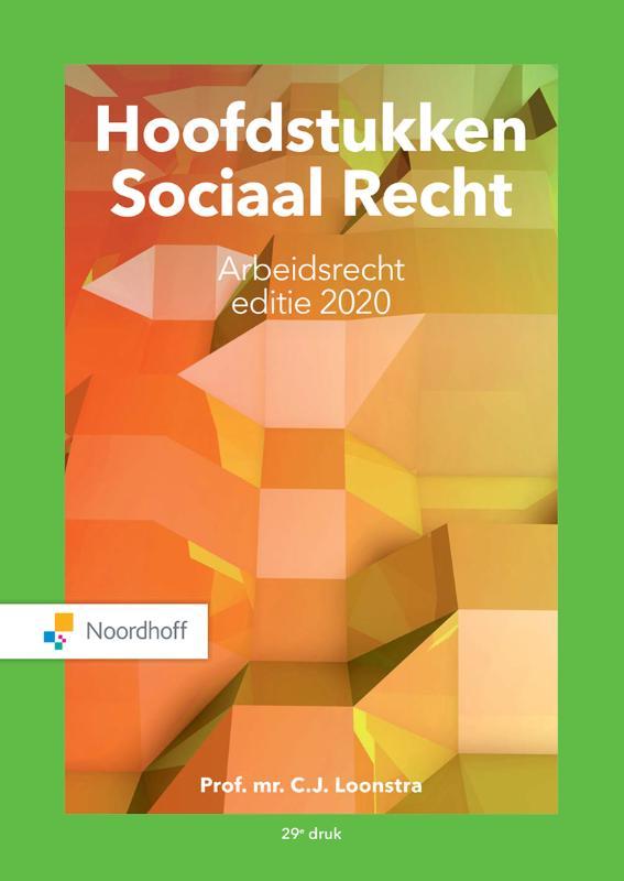 Hoofdstukken Sociaal Recht editie 2020