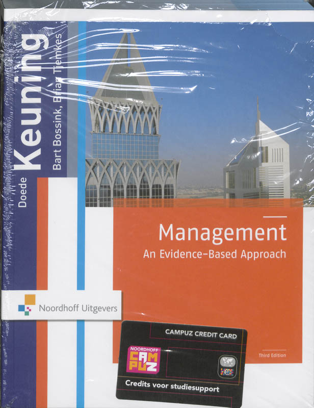 Management an evidence-based approach