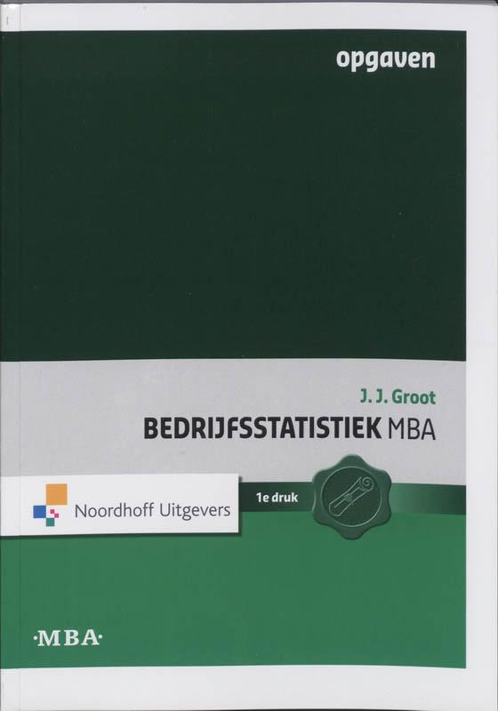 Bedrijfsstatistiek MBA