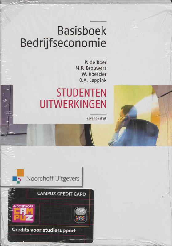 Basisboek bedrijfseconomie uitwerkingen