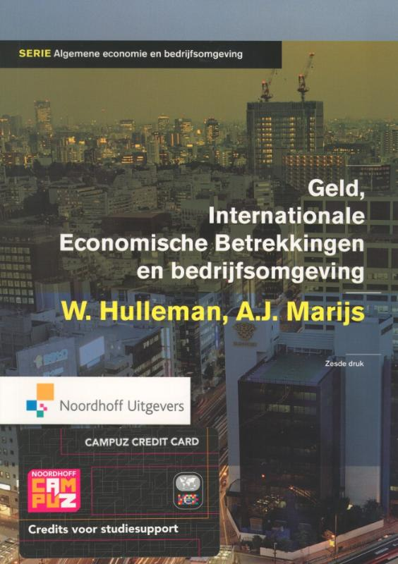 Geld, Internationale Economische Betrekkingen En Bedrijfsomgeving