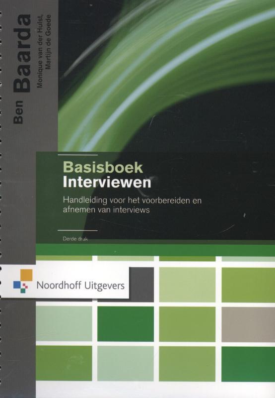 Basisboek Interviewen