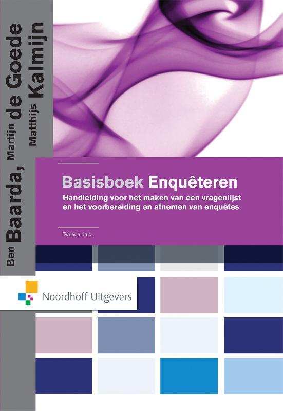 Basisboek enqu�teren
