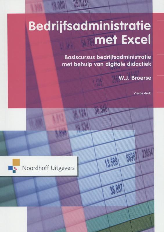 Bedrijfsadministratie met Excel