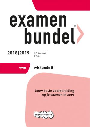 Examenbundel vwo Wiskunde B 2018
