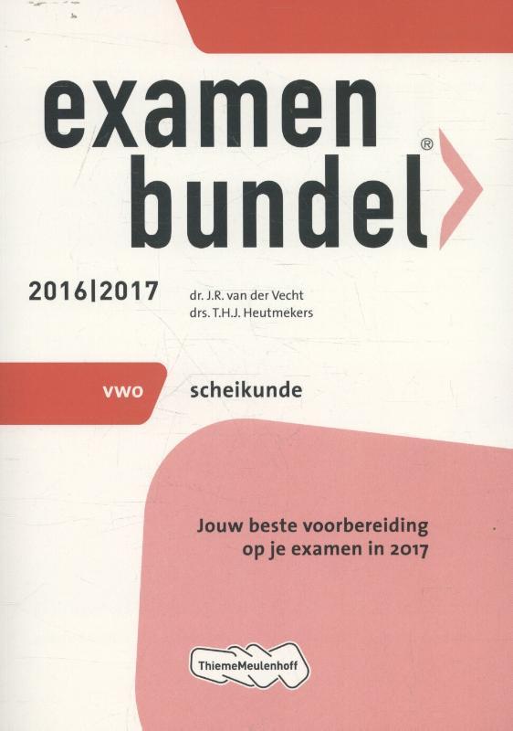 Examenbundel 2016-2017 vwo scheikunde