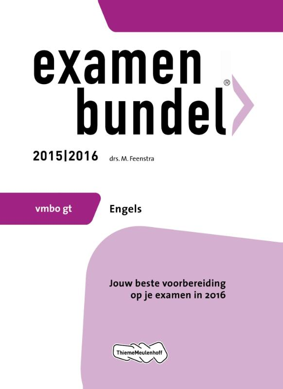 Examenbundel Vmbo gt; Engels; 2015