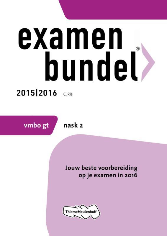 Examenbundel vmbo-gt Nask 2 2015