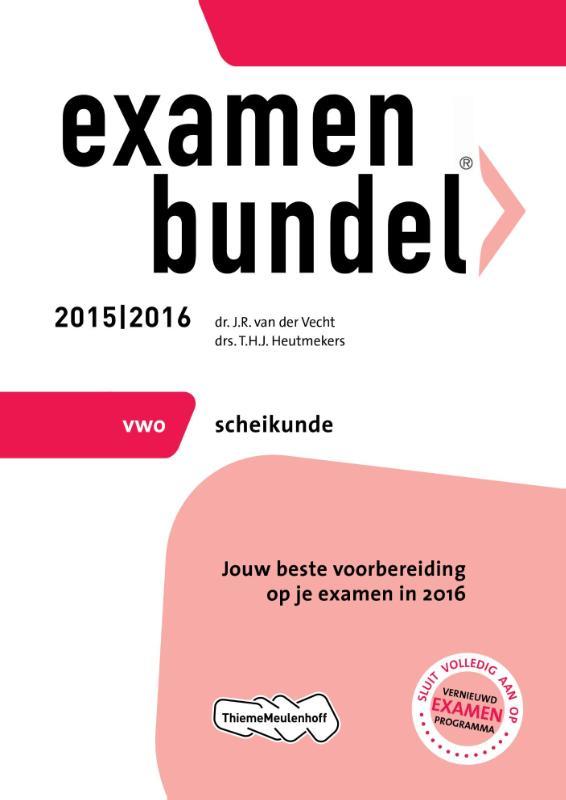 Examenbundel vwo scheikunde 2015
