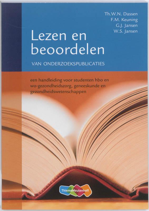 Lezen en beoordelen van onderzoekspublicaties
