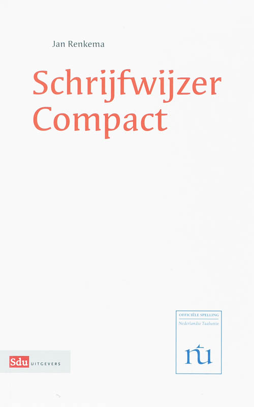 Schrijfwijzer Compact