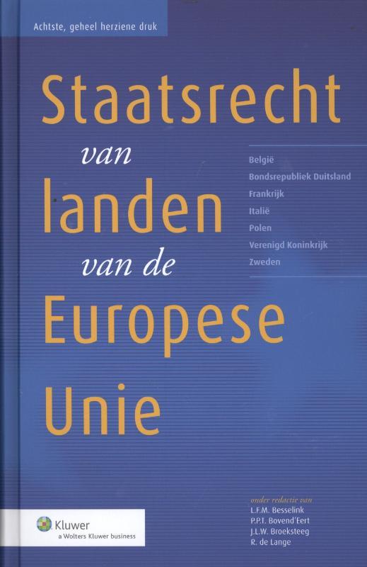 Het Staatsrecht Van 15 Landen Van De Europese Unie