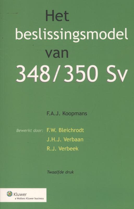 Het beslissingsmodel van 348