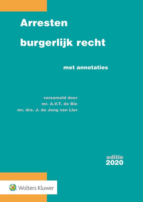 Arresten burgerlijk recht editie 2020