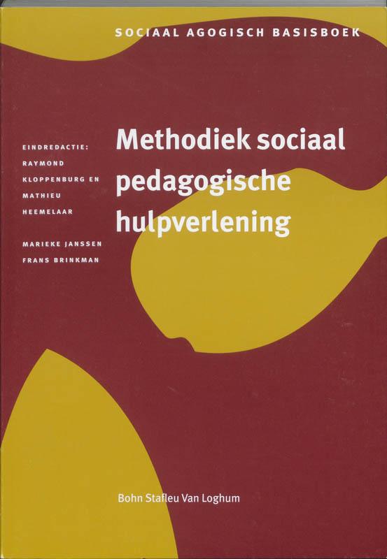 Methodiek sociaal pedagogische hulpverlening