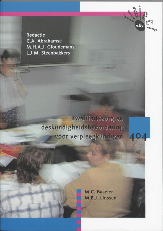 Kwaliteitszorg en deskundigheidsbevordering voor verpleegkundigen