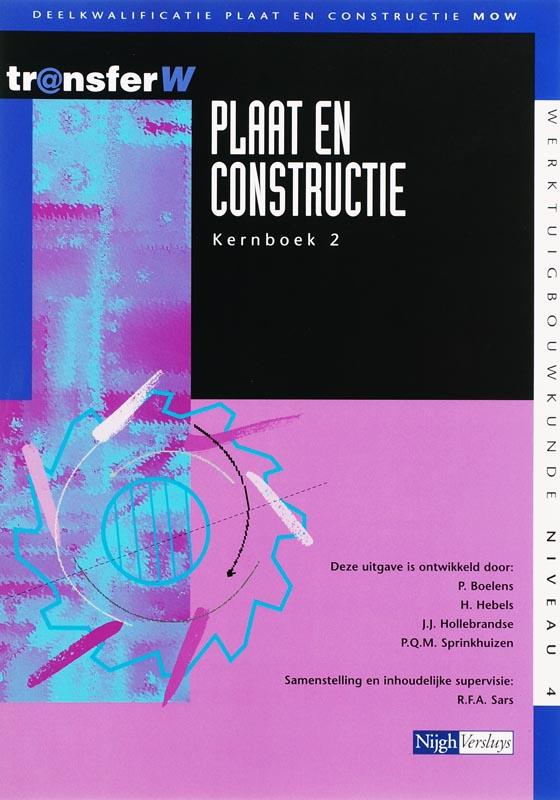 Plaat en constructie