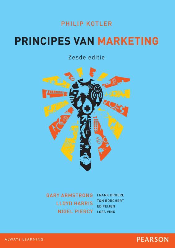 Principes van marketing + toegangscode