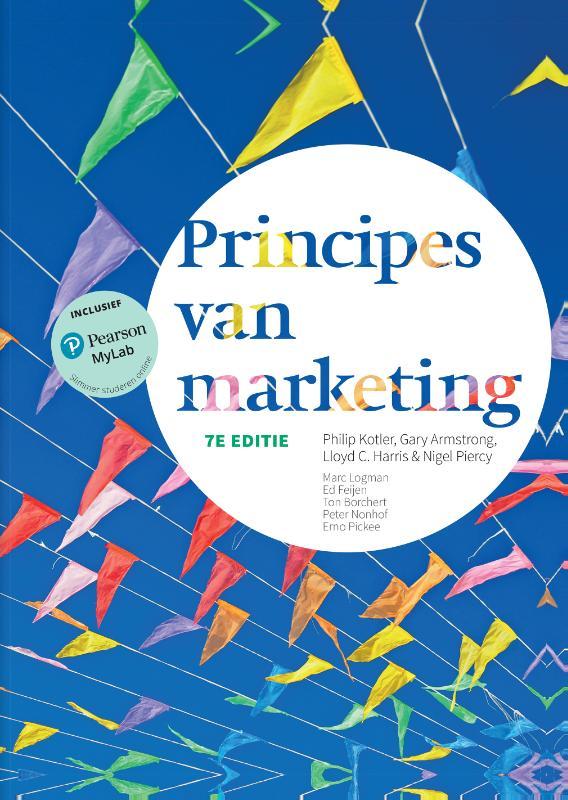 Principes van marketing met MyLab NL toegangscode