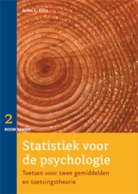 Statistiek voor de psychologie