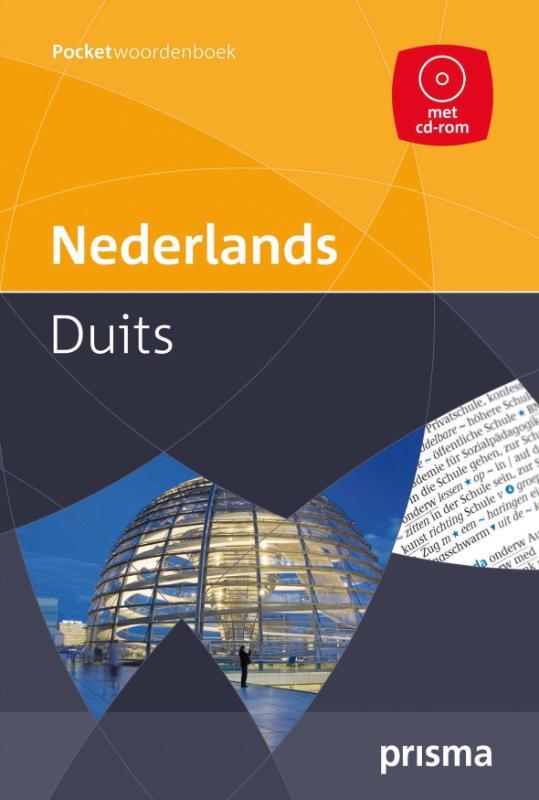 Prisma pocketwoordenboek Nederlands-Duits + CD-ROM