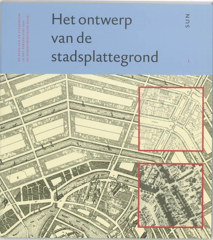 Ontwerp van de stadsplattegrond