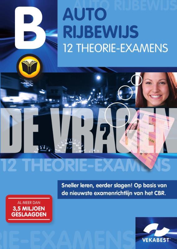 Auto Rijbewijs 12 theorie-examens
