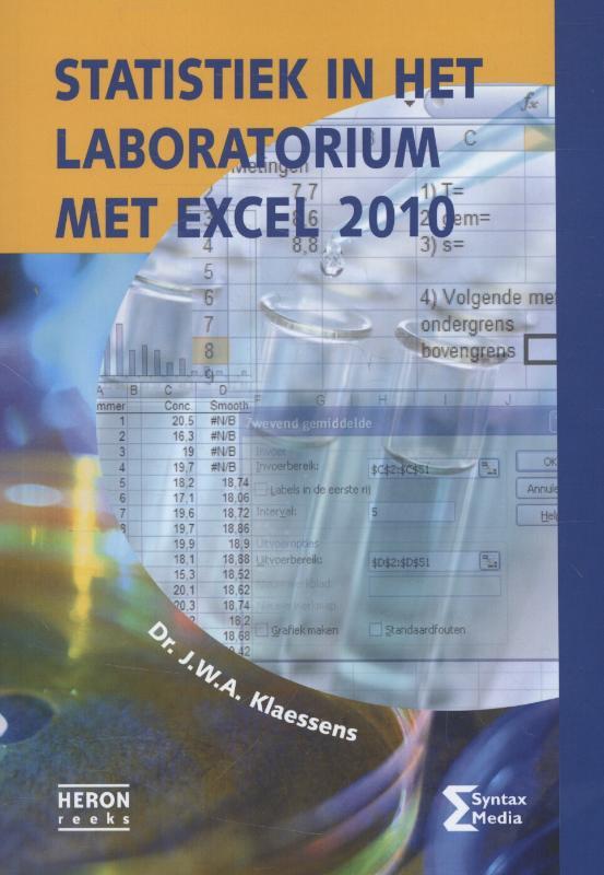 Statistiek in het laboratorium met Excel 2010