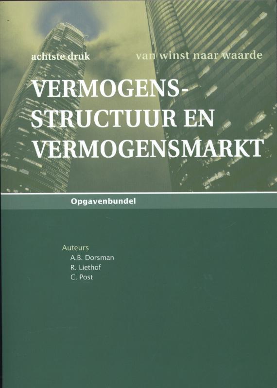 Vermogensstructuur en vermogensmarkt OPG DR.8