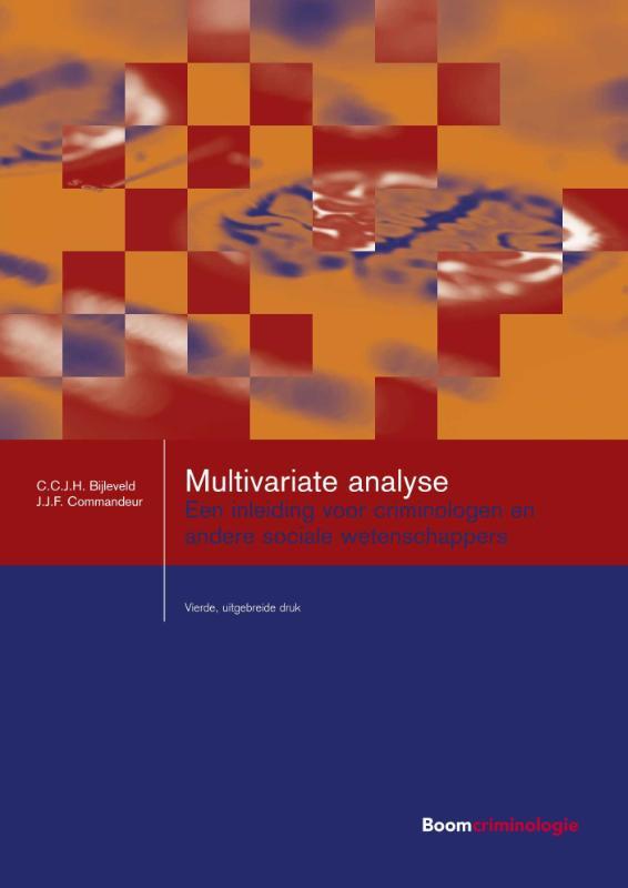 Studieboeken Criminologie & Veiligheid - Multivariate analyse