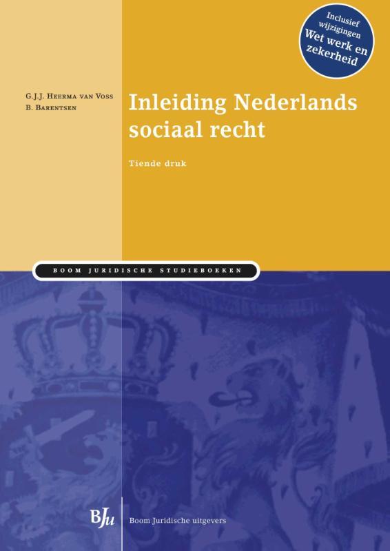 Inleiding Nederlands sociaal recht
