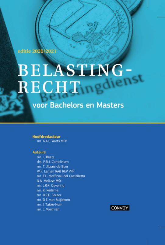 Belastingrecht voor Bachelors en Masters 2020
