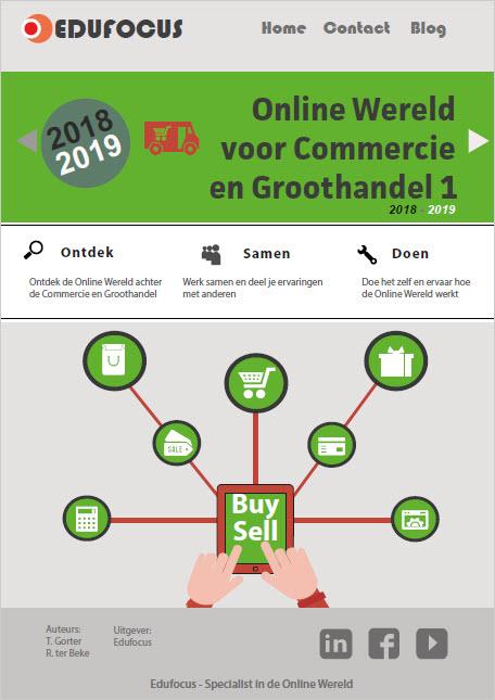 Online Wereld voor Commercie en�Groothandel 1 2018-2019