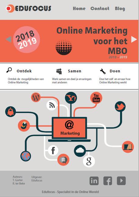 Online Marketing voor het MBO 2018-2019
